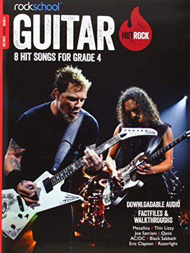 9781908920430: Rockschool Hot Rock Guitar Grade 4