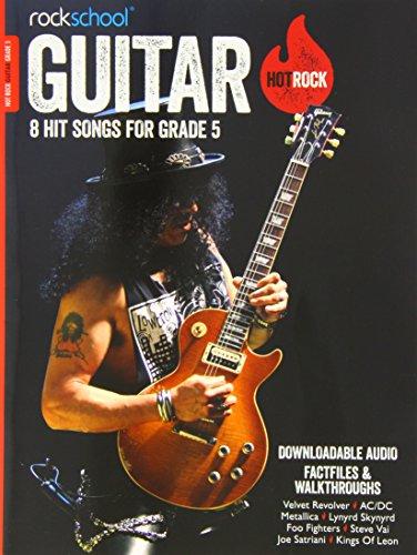 9781908920447: Rockschool Hot Rock Guitar Grade 5