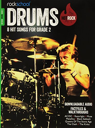 9781908920461: Rockschool Hot Rock Drums Grade 2