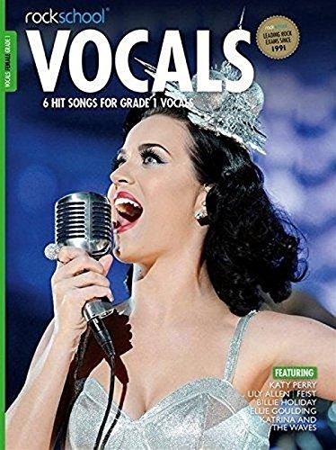 9781908920515: Rockschool Female Vocals Grade 1