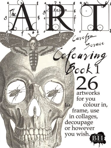 9781908973498: The Art Colouring Book 1: 26 Artworks for You to Colour In, Frame, Use in Collages, Decoupage or However You Wish