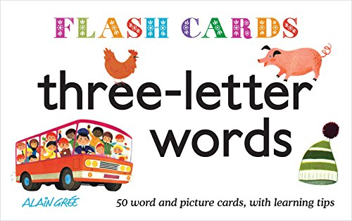 9781908985149: Flash Cards: Three-letter words
