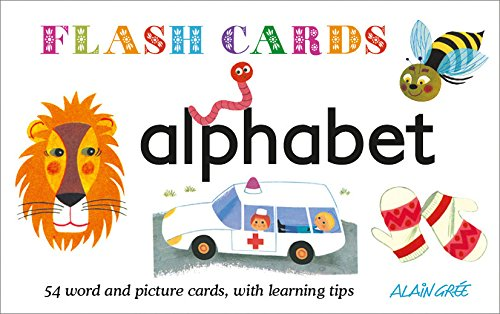 9781908985163: Flashcards: Alphabet: 54 word and picture cards, with learning tips