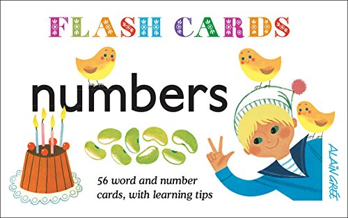 9781908985552: Numbers - Flash Cards: 56 Word and Number Cards, with Learning Tips