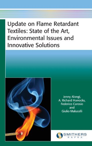 Update on Flame Retardant Textiles: State of: Alongi, Jenny