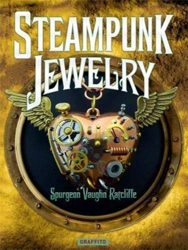 Steampunk Jewelry 9781909051041 From the author of Steampunk Fashion, a stunning collection of steampunk jewelry from top artists around the globe   No artform has been more influenced in recent years by steampunk than that of the jeweler. Initially just an arcane collection of clocks and gears, the art has developed into an astounding hotbed of craftsmanship and creativity, blurring the lines between man and nature, and achieving a handmade intricacy which never ceases to fascinate. In the process some of the most valuable and inventive objects of the steampunk movement have been created. In the vanguard were the aficionados of steampunk who needed to accessorize their costumes. More recently, serious silversmiths, goldsmiths, and metal workers, as well as sculptors in miniature, have entered the fray. The best from around the world are featured here, with astonishing photography and insights from each artist. This volume, in the same format as Steampunk Fashion, will appeal to professional and amateur jewelers alike (whether in the movement or not), to anyone working with steampunk, but also to all steampunk enthusiasts, who seem to have an insatiable appetite for the latest aesthetic manifestations of this remarkable genre.