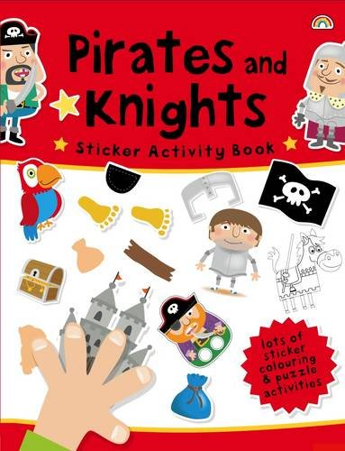 9781909090309: Pirates and Knights (Sticker Activity Book)