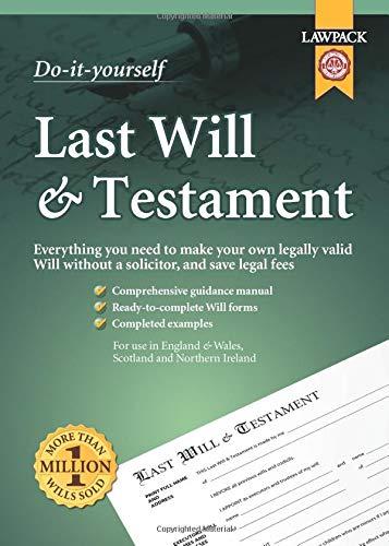 Last Will & Testament Kit (Do It Yourself Kit): Eason Rajah QC; Richard Dew; Neill Clerk & ...