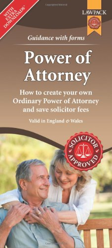 Power of Attorney Form Pack: How to Create Your Own Ordinary Power on contract form, easement form, acknowledgment form, power of appointment form,