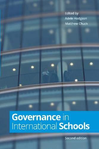 9781909116535: Governance in International Schools