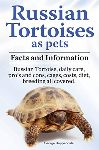 Russian Tortoises as Pets. Russian Tortoise: Facts and Information. Daily Care, Pro's and Cons,...