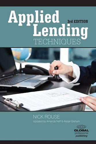 9781909170179: Applied Lending Techniques