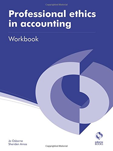 9781909173248: Professional Ethics in Accounting Workbook (AAT Accounting - Level 3 Diploma in Accounting)