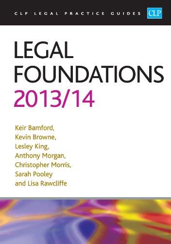 Legal Foundations 2013/2014 (Paperback): Keir Bamford, et al.