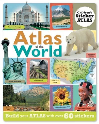 9781909244061: Atlas of the World: Children's Sticker Atlas