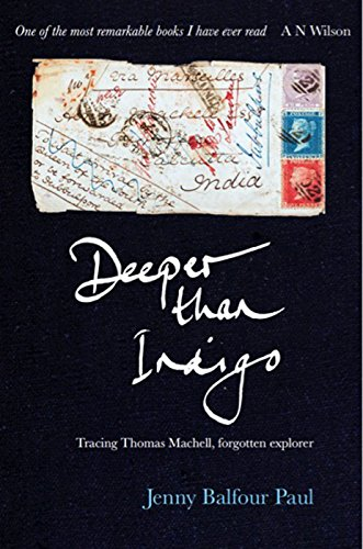Deeper Than Indigo (Hardcover): Jenny Balfour-paul
