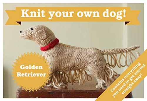 9781909397347: Best in Show: Golden Retriever Kit: Knit Your Own Dog