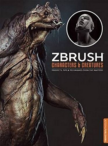 ZBrush Characters and Creatures (Paperback): Kurt Papstein