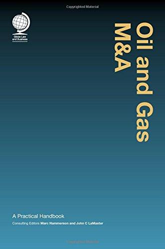 9781909416338: Oil and Gas M&A: A Practical Handbook