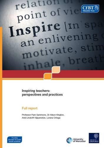 9781909437524: Inspiring Teachers: Summary Report