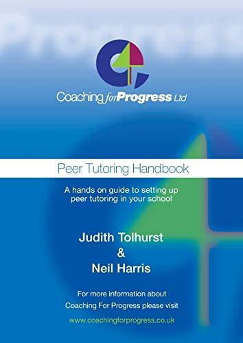 9781909465398: Peer Tutoring Handbook