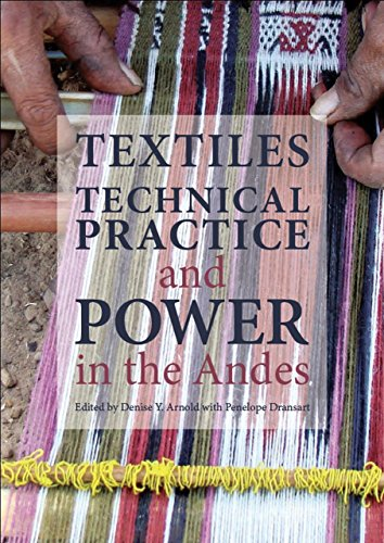 9781909492080: Textiles, Technical Practice and Power in the Andes