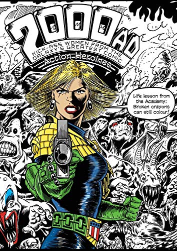 The 2000AD Action Heroines Colouring Book: Massimo Belardinelli (illustrator),