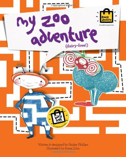 9781909710016: My Zoo Adventure (dairy free) (Children's Educational Food Allergy Book Series)