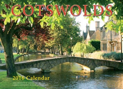 9781909759237: Romance of the Cotswolds Wall Calendar - 2016