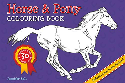 9781909763227: Horse and Pony Colouring Book