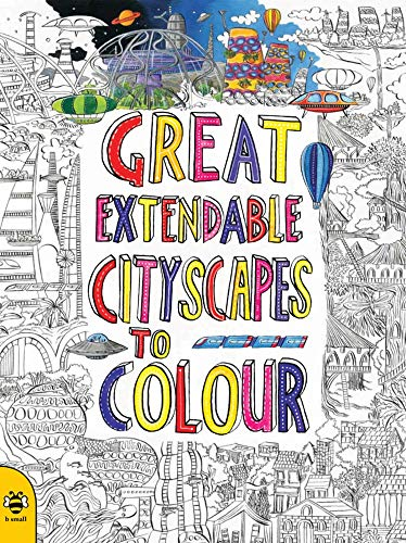 9781909767621: Great Extendable Cityscapes to Colour