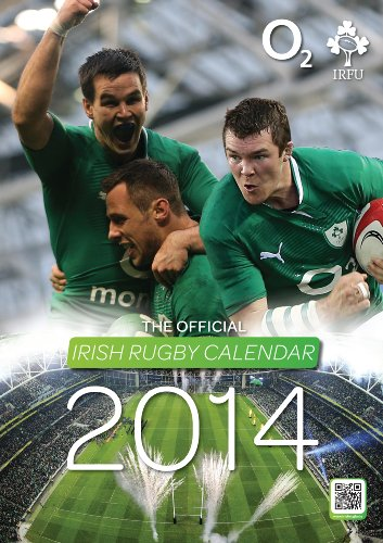 9781909775114: Official Irfu Rugby Calendar 2014