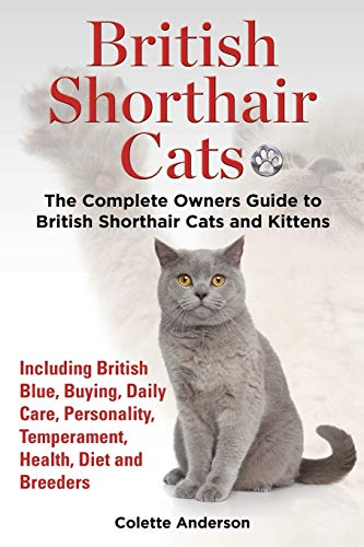 British Shorthair Cats, The Complete Owners Guide to British Shorthair Cats and Kittens  Including ...