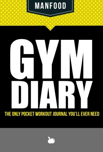 9781909855786: MANFOOD: Gym Diary: The Only Pocket Workout Journal You'll Ever Need