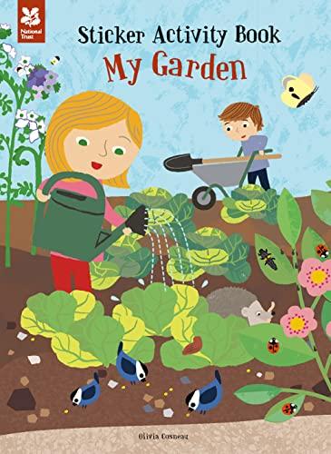 My Garden Sticker Activity Book: Olivia Cosneau