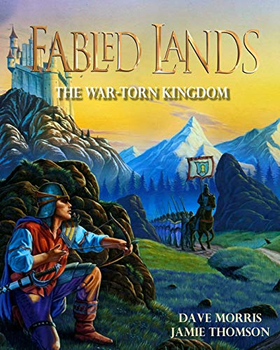 The War-Torn Kingdom: Large format edition (Fabled: Thomson, Jamie