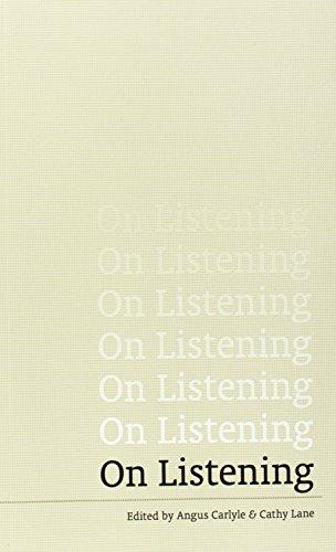 9781910010013: On Listening