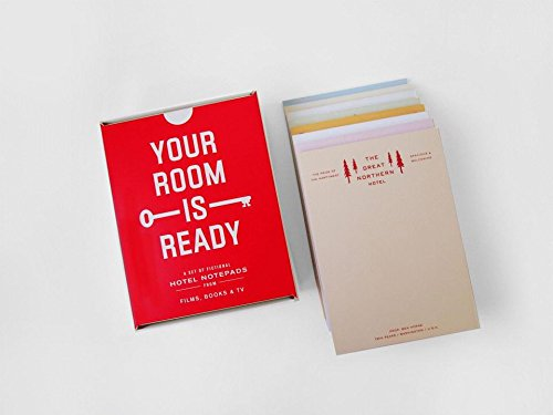 Your Room Is Ready: A Set of Fictional Hotel Notepads from Film, Books TV