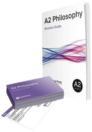 A2 Philosophy Revision Guide Cards for O (How to Get An a Grade in Philo): Poxon, Brian