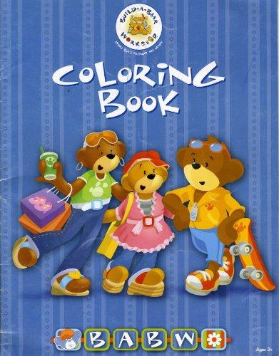 9781910063118: Build-a-Bear Coloring Book (Build-a-Bear Workshop)
