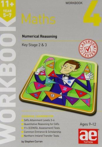 9781910106792: 11+ Maths Year 5-7 Workbook 4: Numerical Reasoning