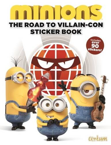 Minions: Sticker Book: Centum Books Ltd