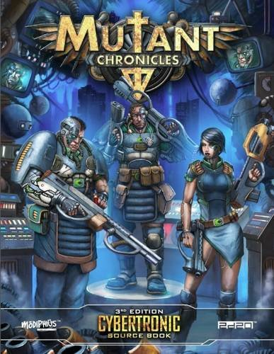 9781910132333: Mutant Chronicles Cybertronic Source Book