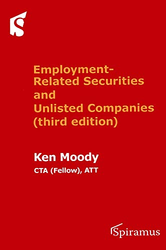 9781910151501: Employment-Related Securities and Unlisted Companies: (third Edition)