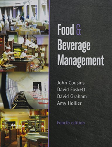 9781910158722: Food and Beverage Management