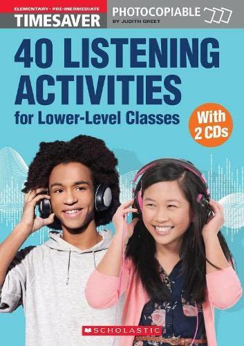 40 Listening Activities for Lower-Level Classes (English Timesavers): Greet, Judith