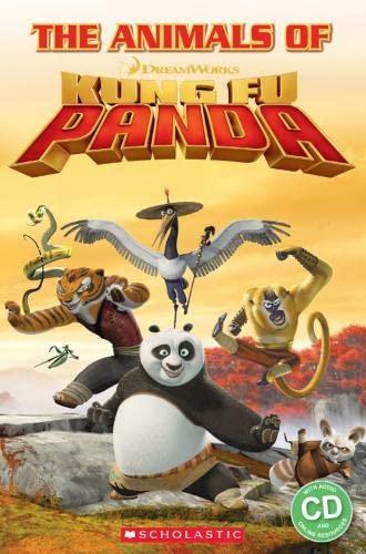 Animals of Kung Fu Panda Book and CD: Davis  Fiona