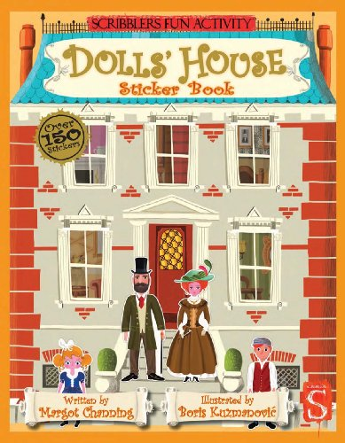 Dolls' House Sticker Book (Scribblers Fun Activity)