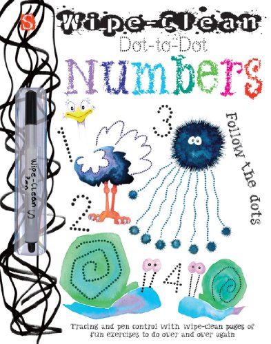 Wipe-Clean(tm) Dot-To-Dot: Numbers (Wipe-Clean Dot-to-Dot)