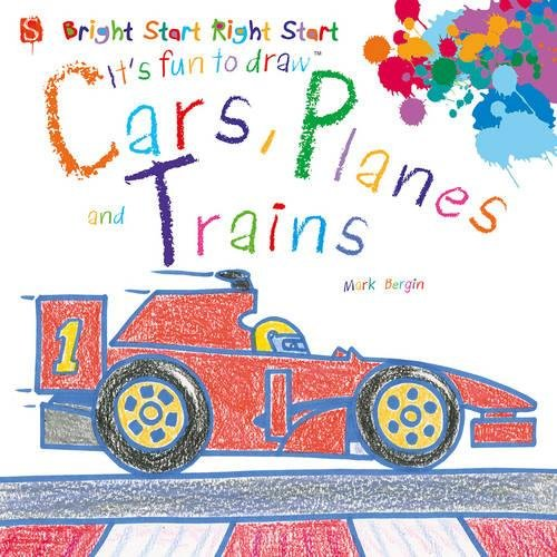 9781910184226: Cars, Planes and Trains (It's Fun to Draw...)